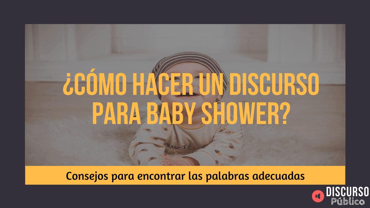 Discurso Baby Shower Palabras Para La Fiesta Premamá